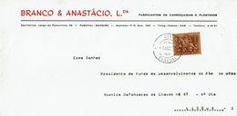 BRANCO & ANASTÁCIO LDA , Funchal , Madeira , 1972 , Medieval  Knigth  1$50 Stamp - 1910-... Republic