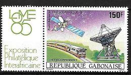 GABON-République Gabonaise-PA 270** - 150 F - Philexafrique Développement Poste Aérienne - - Gabon (1960-...)