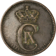 Monnaie, Danemark, Christian IX, 2 Öre, Date Incertaine, Copenhagen, TTB - Denmark