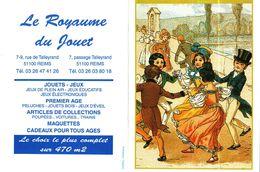 """Petit Calendrier De Poche  2003  -  Jeux """"LA DANSE""""   Le Royaume Du Jouet à REIMS - Small : 2001-..."""