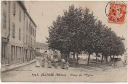 69 QUINCIE  Place De L'Eglise - France