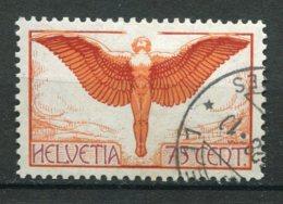 18227 SUISSE PA 11a ° 75c. Rouge, Brun Et Violet (papier Ordinaire)  1924  TB - Usados