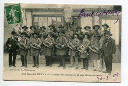 36 Les Gas Du BERRY Groupe De Musiciens Vielleux Et Cornemuseux écrite Issoudun 1909    D10 2020 - France