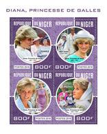 NIGER 2018 - Pr. Diana, M. Teresa - Mi 5723-6 - Mère Teresa