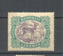 Liberia 1923  MNH - Liberia