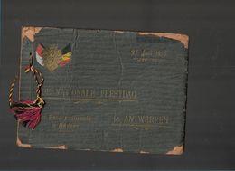 BO 13/ ANVERS  NAT.FEESTDAG 1915   UNIEK DOCUMENT !!  20 FOTOS !!!! - Guerre, Militaire