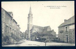 Cpa Du 22 Plumaugat Le Bourg , Arrivée De Lanrelas  -- Près De Broons Caulnes   AVR20-136 - France