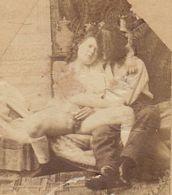 4 Petites Photo De Nu - Bellezza Femminile Di Una Volta < 1920