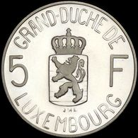 Luxembourg 5 Francs 1980 Proof Silver Charlotte - Luxembourg