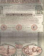 Action-éveil-français-1919-beau Graphique - Autres