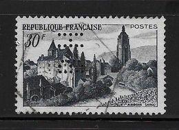 Perfore , Perfin France Jura Nr 905 , Perfo BH - Grasse , Parfumerie - France