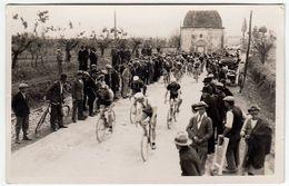 FOTO - CICLISMO - GARA CICLISTICA -1932 - FOTO FIORENZA - FIRENZE - LUOGO DA CLASSIFICARE - Vedi Retro - Cyclisme