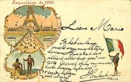 028 160 - CPA - France (75) - Paris - Exposition De 1900 - Le Pont D'Iena - Ausstellungen