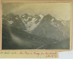 Les Pics De Neige Du Lautaret (2 108m), (Hautes-Alpes). - Lieux