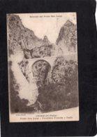 94544     Italia,  Grimaldi,  Ricordo  Del Ponte San  Luigi,  Frontiera   Francia E Italia,  VG  1921 - Imperia