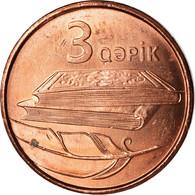 Monnaie, Azerbaïdjan, 3 Qapik, Undated (2006), SPL, Copper Plated Steel, KM:40 - Azerbaïjan