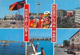 Cartolina Rosapineta Rosolina Mare Vedute 1975 - Rovigo