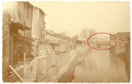 Wich A.d.Seille ( Vic Sur Seille ) Lothringen -  Pont -   WWI Carte  Photo Allemande - Vic Sur Seille