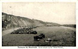 028 162 - CPA - Belgique - Ternayen Bij Maastricht - Eerste Schepen Op Het  Albert Kanaal - Riemst