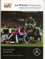 ESPAÑA. Club Deportivo Leganés 1/2 Final COPA DEL REY Vs SEVILLA. Programa 16 P - Books