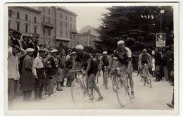 FOTO - CICLISMO - GARA CICLISTICA - 1931 - FOTO FIORENZA - FIRENZE - LUOGO DA CLASSIFICARE - Vedi Retro - Cyclisme