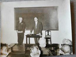 CUBA - LA HAVANE Philippe GROUSSET Ambassadeur De France, M. MALEGARIE - 15 Octobre 1954 - Personalidades Famosas
