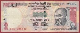 Inde 1000 Rupees 2012 Dans L 'état (16) - India