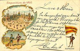 028 163 - CPA - France (75) - Paris - Exposition De 1900 - Les Palais De L'Esplanade Des Invalides - Ausstellungen