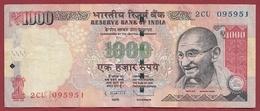 Inde 1000 Rupees 2013 Dans L 'état (17) - India