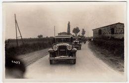 FOTO - CICLISMO - GARA CICLISTICA - 1931 - AUTO - CARS - FOTO FIORENZA - FIRENZE - LUOGO DA CLASSIFICARE - Vedi Retro - Cyclisme