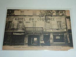 BORDEAUX - 29 CARTES POSTALES ANCIENNE - RUE ANIMES COMMERCE MARCHE TRAMWAY HOTEL DU COMMERCE ETC....- 33 GIRONDE (CM) - Bordeaux