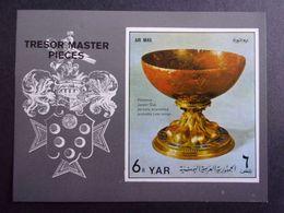 YEMEN JEMEN YAR MI-NR BLOC 184 MNH/NEUF** TRESOR MASTER PIECES - Yémen