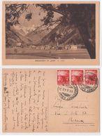 Val D'Aosta - Gressoney St. Jean, M.1385, Viaggiata 1948 - Italie