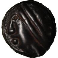 Monnaie, Séquanes, Potin, TTB, Potin, Delestrée:3091 - Galle