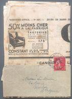 France N°278B Seul Sur Bande Journal - Journal CANDIDE 1936 - Cote 140€ - (B2899) - 1921-1960: Periodo Moderno