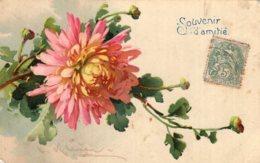 B67745 Cpa Fantaisie Fleurs - Zonder Classificatie