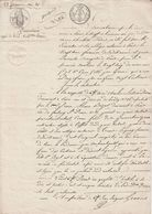 23 Frimaire An 10 - Inventaire Après Le Décès De Marie Charlotte Dieres - 3 Scan - Seals Of Generality