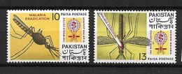 PAKISTAN 1962 INSECTS, PALUDISM ERADICATION MNH - Medicine