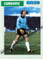 Fiche, Football (1997) : IVAN CURKOVIC (Yougoslavie, Velez Mostar, Partizan De Belgrade, Saint-Etienne) Recto-Verso - Vecchi Documenti