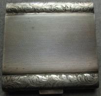 ANCIEN        POUDRIER      ARGENT      MASSIF      925 - Accessories