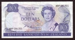 NEW ZEALAND - 10 Dollars (1985 1989) - Pick 172b - Nueva Zelandía
