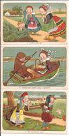 Lot De 6 Cpa De Folklore Bretagne - Humour - - Folklore