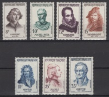 France: 1957. Y&T  N° 1132/38 ** MNH, Neuf(s). Cote Y&T 2020 : 10,50 € - Neufs