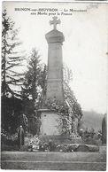 58 - NIEVRE - BRINON Sur BEUVRON - Le Monument Aux Morts Pour La France - Brinon Sur Beuvron