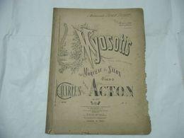 SPARTITO MUSICALE MYOSOTIS MORCEAU DE SALON CHARLES PAR ACTION - Scores & Partitions
