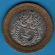 CAMBODIA 500 RIELS 1994 KM# 95 Bi-Metallic - Cambodge