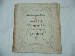 SPARTITO MUSICALE OU VAS-TU PETIT OISEAU J.CH.HESS. - Scores & Partitions