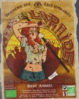 Etiquette (label) De Biere Française  ( Beer, Cerveza, Birra, Bier);Brasserie Des FAUX SEMBLABLES  (38) - Bière