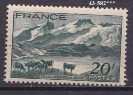 FRANCE Année 1943  N° 582 NEUF*** - Nuovi