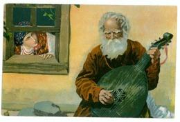 UK 44 - 8779 ETHNIC, Ukraine, Old Folk Singer - Old Postcard - Unused - Ukraine